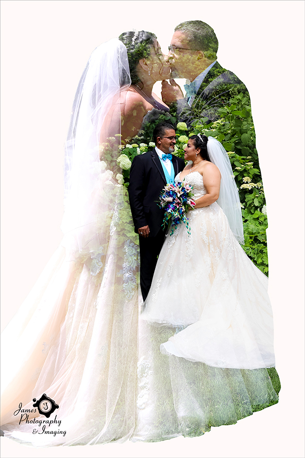 Bride & Groom Artistic Composite